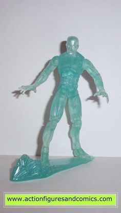 hasbro toys action figures for sale to buy: MARVEL UNIVERSE ICE MAN (X-men origins wolverine movie series) 100% COMPLETE Condition: Excellent - displayed only Figure size: approx. 3 3/4 inch ---------