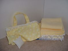 Dolls Layers Pram Cot Blanket And Pillow Pattern By Karen