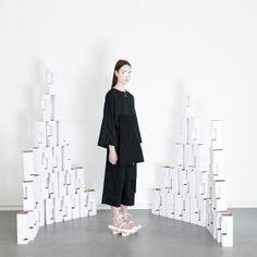 ORPHAN BIRD AW14/15 LOOKBOOK #womenswear #fashion #lookbook #minimal #allblack #blackonblack #simplicity #artinstallation #readytowear #collection #fw #cphfw