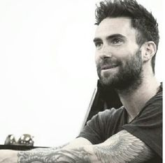 A Bearded Adam Levine