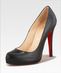 My dream shoes.  Christian Louboutin Rolando heels