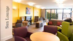 Crave ID. Fairways Dementia Care Home. Lounge