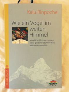 "Finished another book ""Like a bird in the vast sky"" (Wie ein Vogel im weiten Himmel) by Kalu Rinpoche. It is based on lectures which were given by Kalu Rinpoche during his visit of Germany in 1982. It is really a little jewel, especially for those who would like to read a simple but deep introduction to the nature of mind.  More at…"