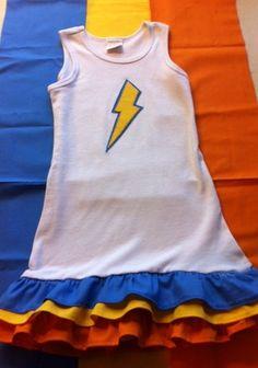OKC Thunder Dress. $35.00 USD, via Etsy.