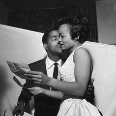 Sammy Davis Jr and Eartha Kitt