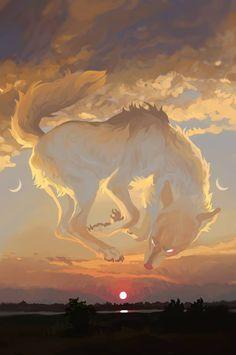 I Am Pretending by Wavyrr on DeviantArt Pretty Art, Occult, Deviantart, Mountains, Sunset, Awesome, Artwork, Travel, Painting
