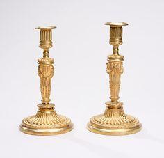 Par de casticais Franceses em bronze gilded a ouro do sec.19th, 26cm de altura, 3,540 USD / 3,200 EUROS / 13,730 REAIS / 22,460 CHINESE YUAN soulcariocantiques.tictail.com