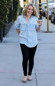 Image result for hilary duff casual style