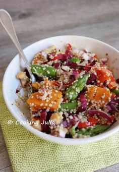 COOKING JULIA: BUDDHA BOWL DE PRINTEMPS