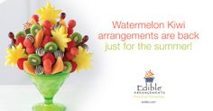 All of your favorite summer flavors, artfully arranged in one fresh fruit bouquet!