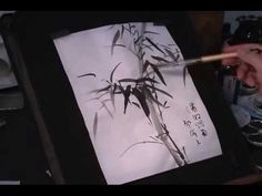 Bamboo Painting Diagrams and Examples(3) - YouTube