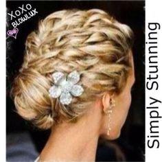 Cute bridesmaid hairstyles