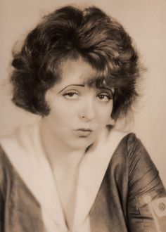 Original Duck Face ☆ Clara Bow ☆ HER WEDDING NIGHT (1930) ☆ Stamped on reverse: PROPERTY OF PHOTOPLAY MAGAZINE ☆