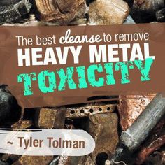 The Best Cleanse To Remove Heavy Metal Toxicity Colon Cleansing Foods, Best Cleanse, Brain Tumor, Meal Replacement Smoothies, Lose 20 Lbs, Tea Recipes, Food Videos, Heavy Metal, The Best