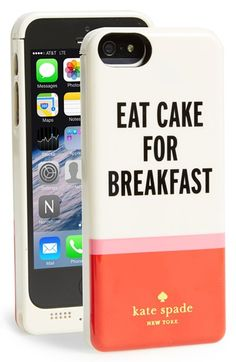 Kate Spade NY battery charging iPhone case - we approve of this message.