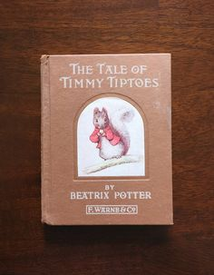 The Tale of Timmy Tiptoes Beatrix Potter by TheHollowRound on Etsy