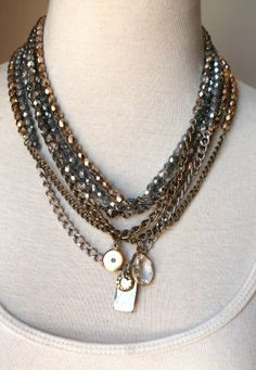 Sheer Addiction Jewelry - The Beaded lux set