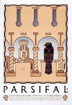 Parsifal Movie Poster by David Lance Goines
