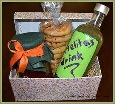 Ανθομέλι: Κουτάκι για καλούδια!!! BOX DIY WITH HANDMADE MARMELADE, COOKIES & LEMONADE