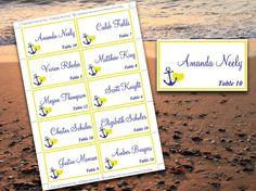 beach wedding menu template instant download printable menu