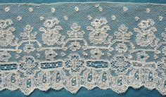 antique/vintage Mechlin lace edging C - Pat Earnshaw collection Linens And Lace, Lace Making, Bobbin Lace, Vintage Lace, Old And New, Lace Trim, Needlework, Textiles, Quilts