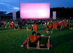 cinema ao ar livre - Pesquisa Google