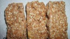 Receita de Barra de cereal caseira, enviada por Dayana - TudoGostoso Krispie Treats, Rice Krispies, Desserts, Food, Homemade Cereal, Homemade Kind Bars, Cereal Bars, The Oatmeal, Recipes