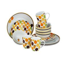 Rachael Ray Little Hoot Owl 16-pc. Dinnerware set. Absolutely adorable!!!! Just bought them.
