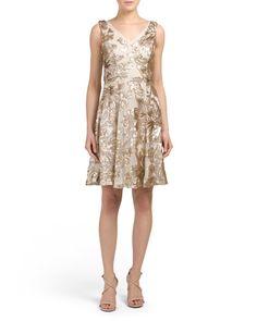 Sleeveless+A+Line+Sequin+Dress