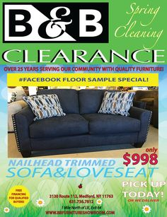 B&b Furniture, Quality Furniture, Clearance Furniture, Loveseat Sofa, Love Seat, Finance, Economics