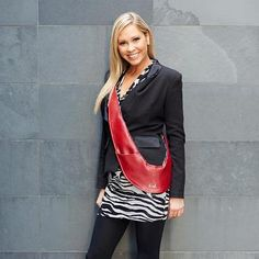 You can dress it up or dress it down...a Sash bag for EVERY woman.