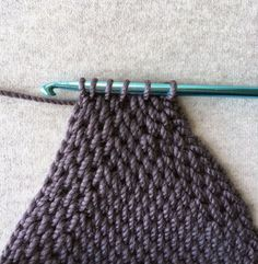 Watch This Video Beauteous Finished Make Crochet Look Like Knitting (the Waistcoat Stitch) Ideas. Amazing Make Crochet Look Like Knitting (the Waistcoat Stitch) Ideas. Crochet Cap, Crochet Baby Hats, Crochet Purses, Crochet For Kids, Crochet Granny, Loom Knitting Projects, Knitting Stitches, Knitting Yarn, Knitting Tutorials
