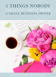 When I quit my corporate job, I imagined what life would look like as a small business owner, but there are a few things I wish I had known. Creating A Business, Growing Your Business, Business Design, Business Tips, Online Business, What Is Life About, Things To Think About, Marketing Tools, Internet Marketing