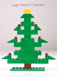 Een LEGO Kerstboom