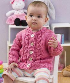 Free Pattern: Seeds of Spring Baby Cardi