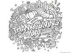 211 Best Thanksgiving Coloring Pages images | Coloring pages for ...