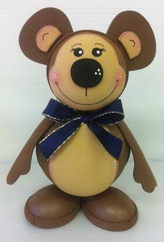 Medvídek z pěnovky