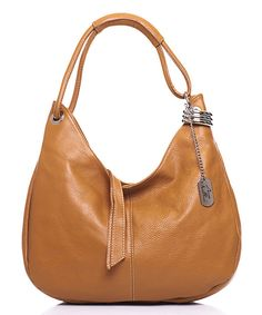 Look at this Anna Morellini Cuoio Leather Crescent Hobo on today! White Leather Handbags, Leather Bag, Fab Bag, Anna, Cute Handbags, Shoulder Handbags, Shoulder Bags, Fashion Bags, Me Too Shoes