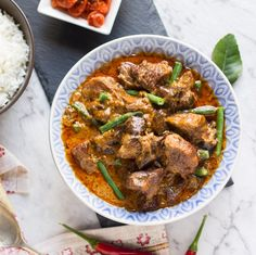 Slow Cooker Thai Red Beef Curry #recipe via The Cook's Pyjamas http://www.yummly.com/recipe/Slow-Cooker-Thai-Red-Beef-Curry-1166994
