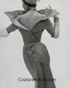 Couture Allure Vintage Fashion: Paris Couture: Jacques Fath, 1950