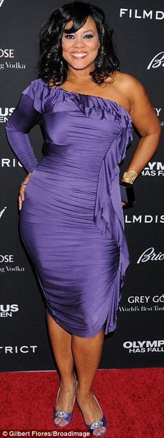 Lela Rochon flaunted their curves in front of the cameras