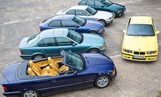 Vergleich: Sechs Mal BMW E36 - Freunden wir uns damit an: Noch gehört der E36 zum täglichen Bild auf den Straßen oder auf den Kiesplätzen der Fähnchenhändler. Aber der 3er geht munter auf die 30 zu. Welcher E36 hat dann das Zeug zum Klassiker?