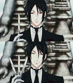 Black Butler kuroshitsuji...when one knife is simply not enough! ;)