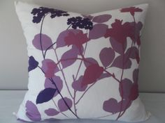 Home Decor - Etsy Mother's Day Gifts Purple Pillow Covers, Purple Pillows, 20x20 Pillow Covers, Floral Pillows, Colorful Pillows, Decorative Pillow Covers, Toss Pillows, Accent Pillows, Vine Design