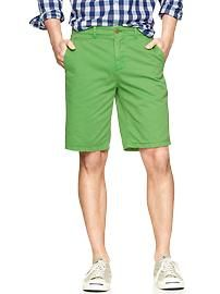 Lived-in flat front shorts $44.95.  Summer for him at Gap.