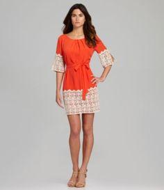 026677b8434 Gianni Bini Nancy Lace-Detail Dress