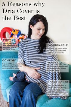 5 reasons why every nursing mother needs a Dria Cover