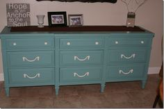 Annie Sloan Chalk Paint Provence and Old White