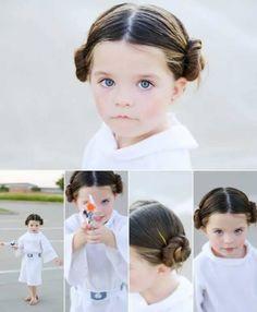 A pequena princesa Leia