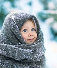 The cuteness is killing me, ohmygod.   #baby #bundled